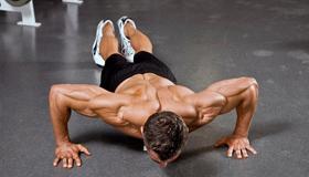 Как накачать мышцы отжиманиями?