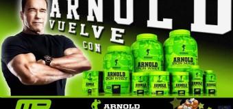 MusclePharm Iron Whey Arnold