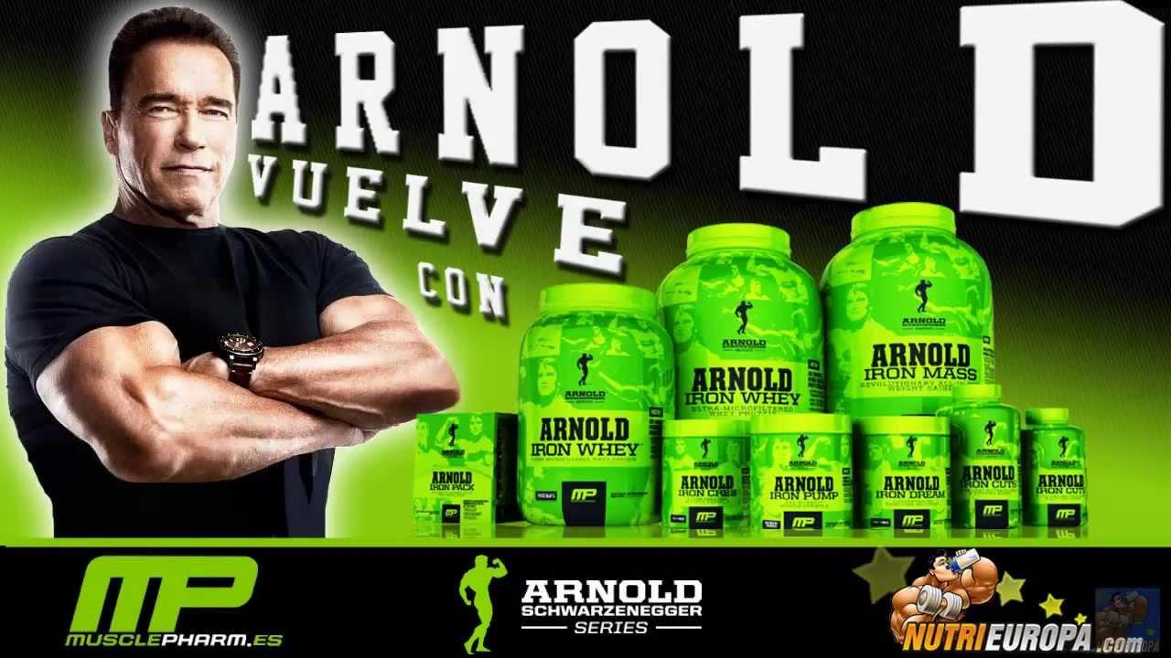 Iron Whey Arnold