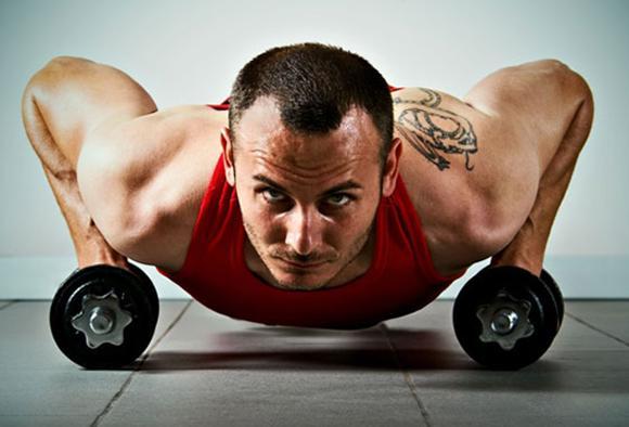 Как накачать мышцы дома?
