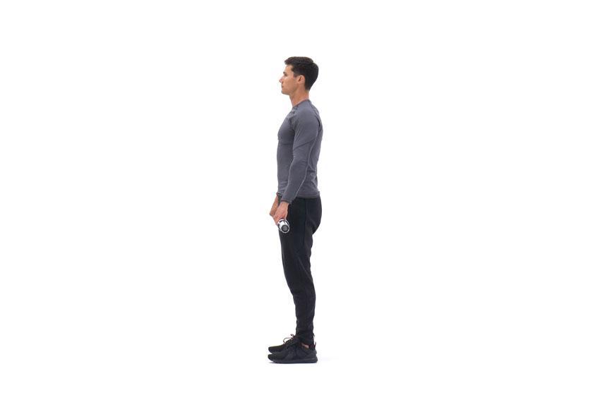 Подъем штанги перед собой