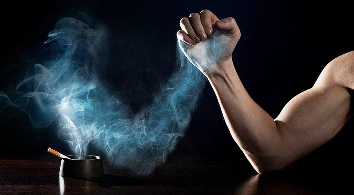 Как курение влияет на рост мышц