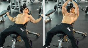 Суперсет на грудные мышцы