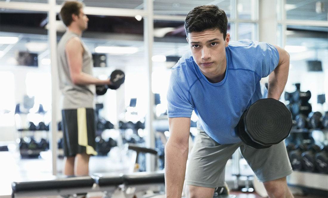 тренировки подростка