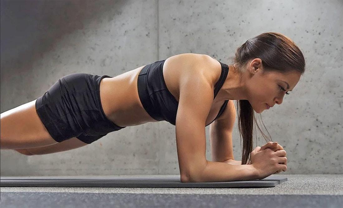 Планка для похудения для начинающих женщин