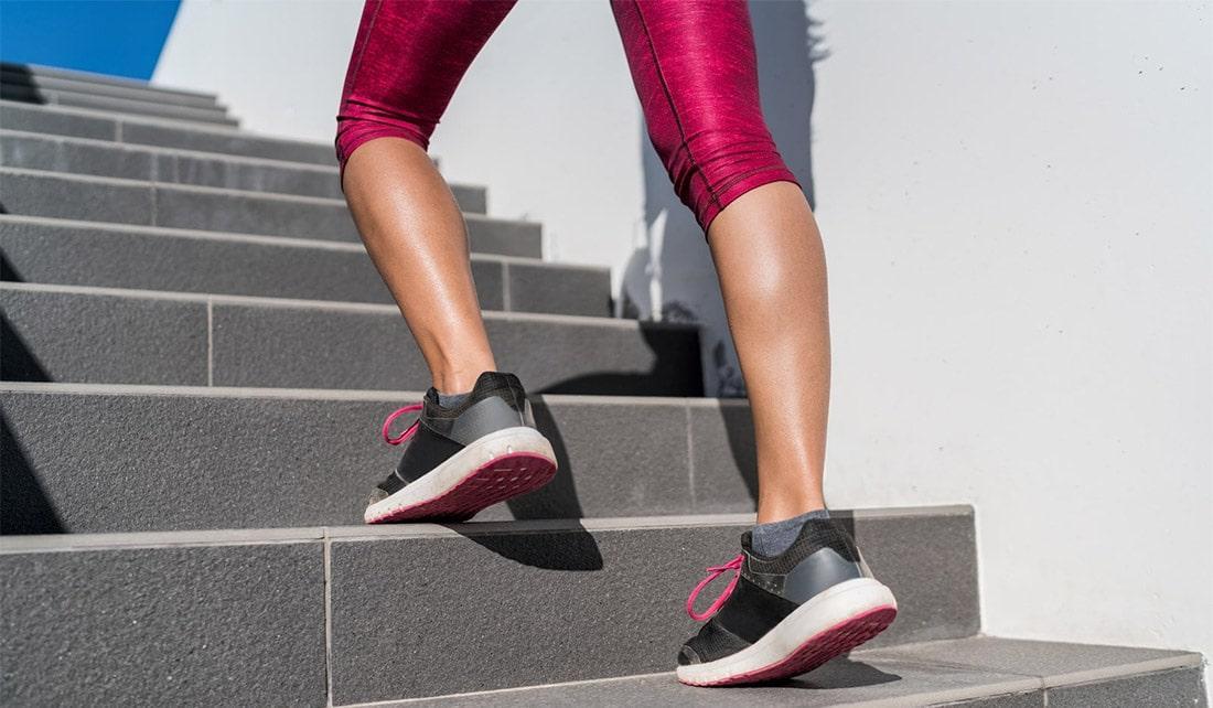 Как накачать икры ног девушке