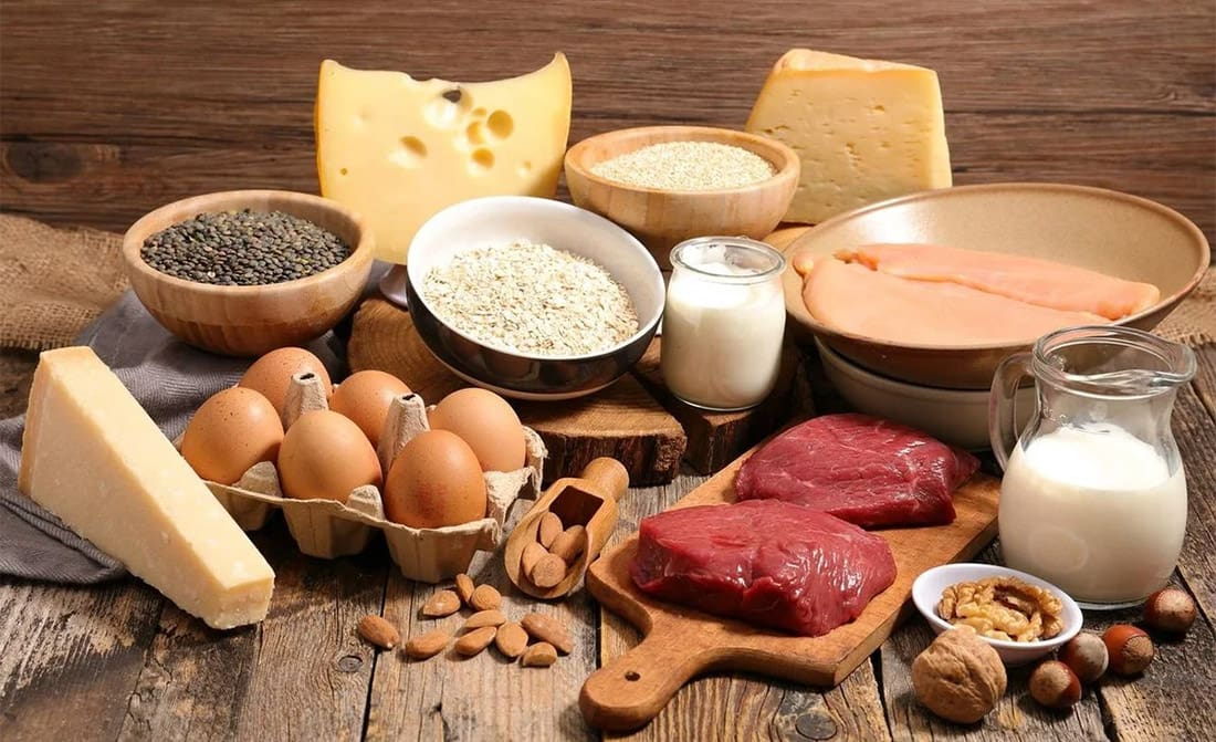 Продукты с большим содержанием белка для роста мышц