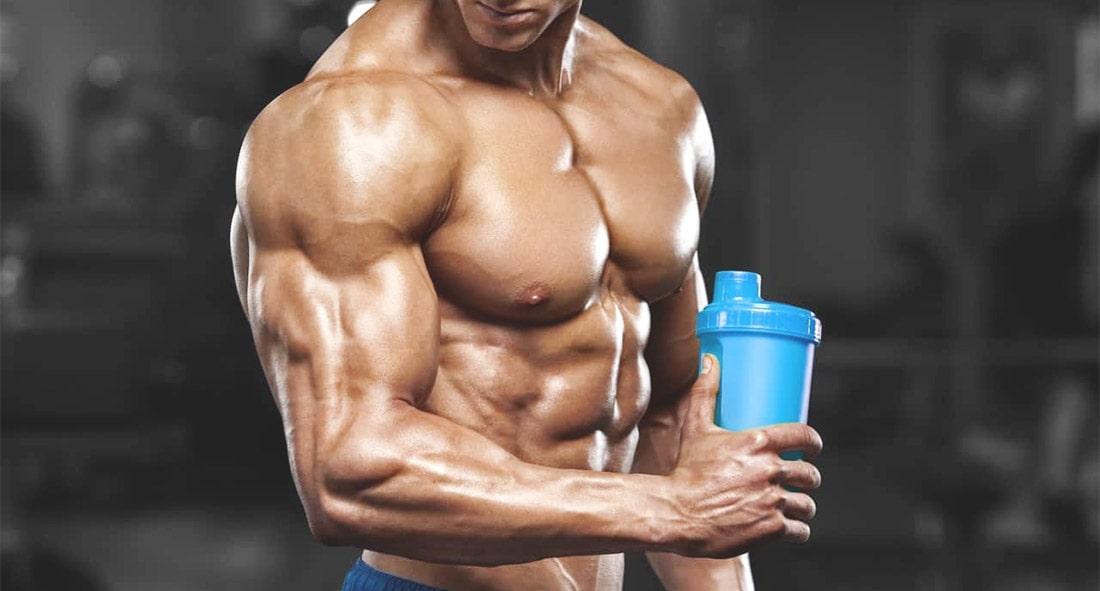 как пить протеин для набора мышечной массы
