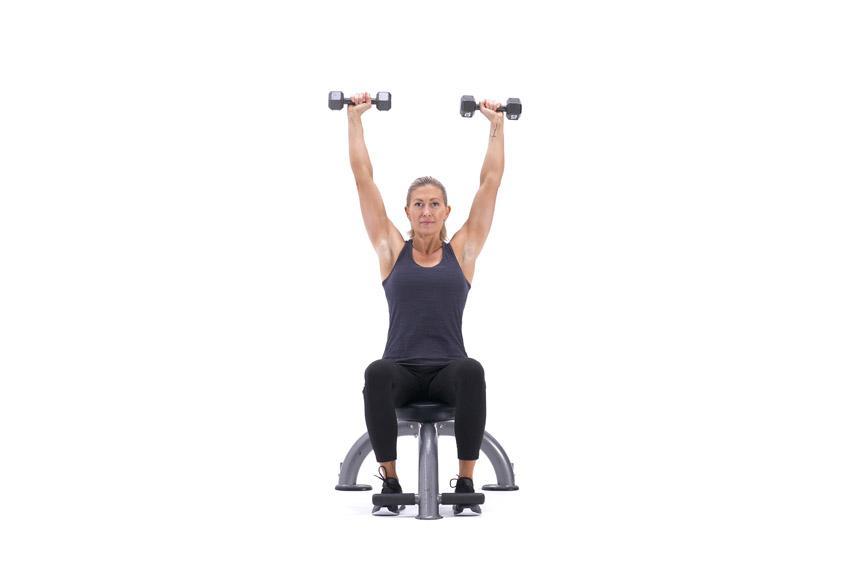 Тренировка плеч для девушек