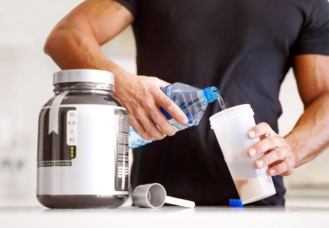 Как разводить протеин