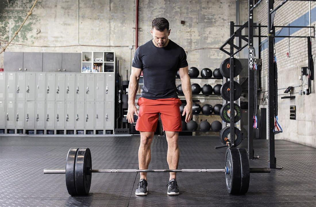 Комплекс упражнений со штангой