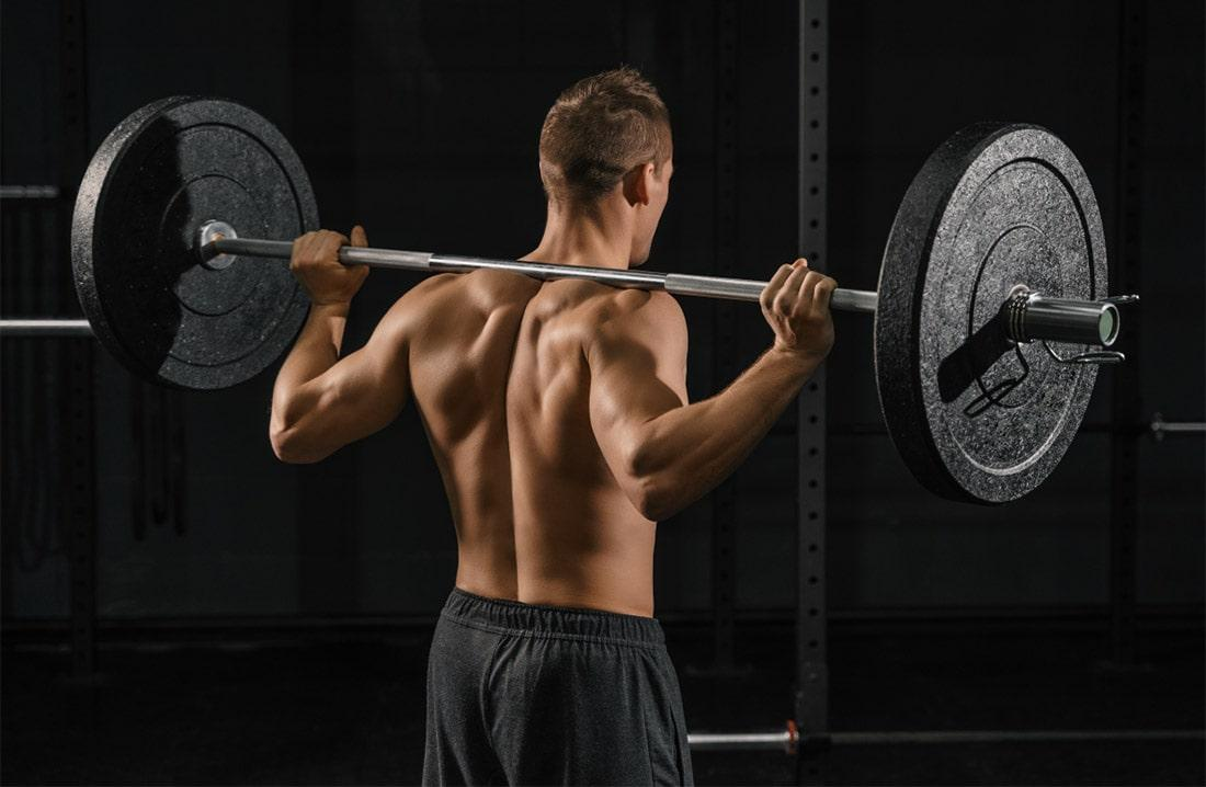Тренировка на похудение в тренажерном зале для мужчин